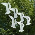 Aluminium vogels