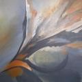 Acryl schilderij 70x60 cm