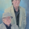 Generatie acryl schilderij